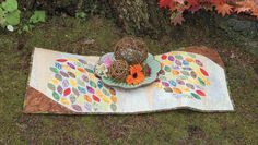 Additional Images of Abundance Table Runner Kit by G. E. Designs - ConnectingThreads.com