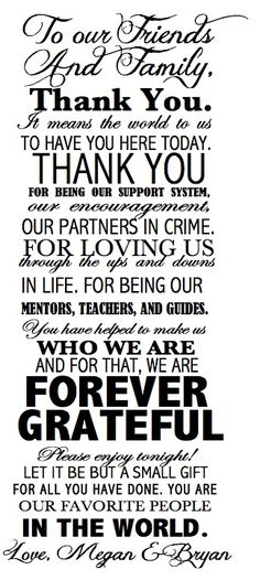 Trendy wedding reception gifts for guests brides 26 ideas Wedding Reception Program, Gift Table Wedding, Wedding Gifts For Guests, Wedding Thank You, Wedding Parties, Wedding Programs, Wedding Events, Wedding Card Quotes, Wedding Signs