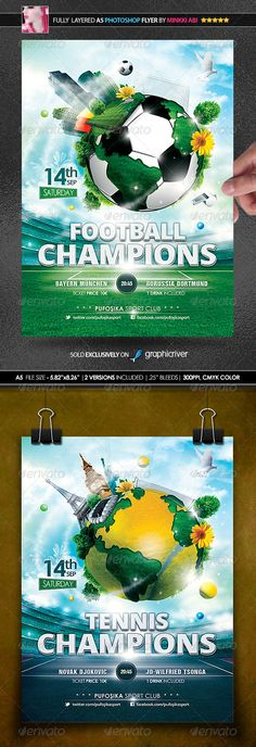Sports World Vs.1 Poster/Flyer