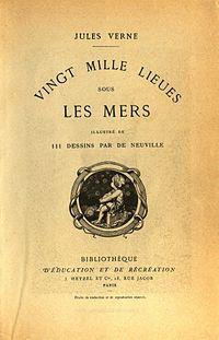 Vingt mille lieues sous les mers OR Twenty Thousand Leagues Under the Sea... read it in sixth grade.. long time ago!