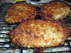 Oven fried pork chops.Trying this tonight with gluten free pancakc mix! Will see how it turns out