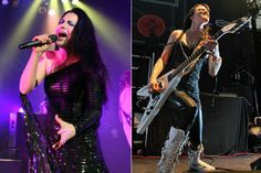 Amy Lee and Lzzy Hale