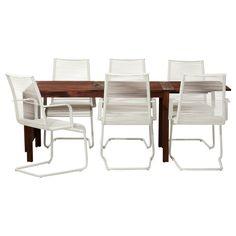 ÄPPLARÖ/VÄSMAN Bord og 6 stoler - IKEA
