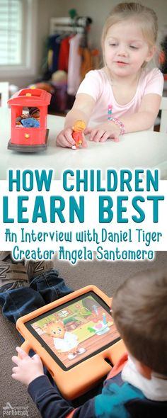 Angela Santomero, the producer of Daniel Tiger's Neighborhood, is sharing how children learn best... catch my Q&A with her and learn about her new book for parents, Preschool Clues #AD #PreschoolClues #parenting @angelasclues