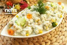 Kaşık Kaşık Yedirten Karnabahar Salatası Tarifi