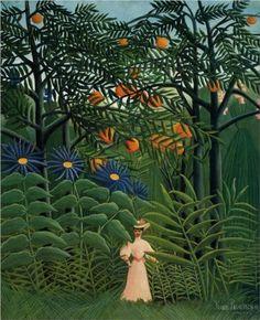 Henri Rousseau : Woman. Desire. Exotic.