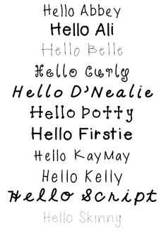 Great FREE Fonts that you can use for TPT!   Hello Literacy: How To Download a Font & Get It Workin'!
