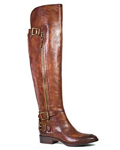 Sam Edelman Over The Knee Flat Moto Boots - Paulina - Shoes - Bloomingdale's