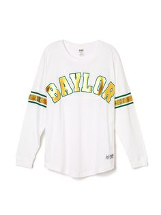 Baylor University Limited Edition Varsity Crew - PINK - Victoria's Secret
