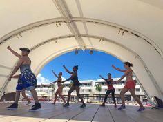 More NRG2GO zumba fun at Chic Punta Cana