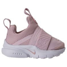 61e5c002dea6 Right view of Girls  Toddler Nike Presto Extreme Running Shoes in Barely  Rose White Black