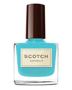 Bright Nails: Scotch Naturals nail polish in Loch Ness Mystery, $15.