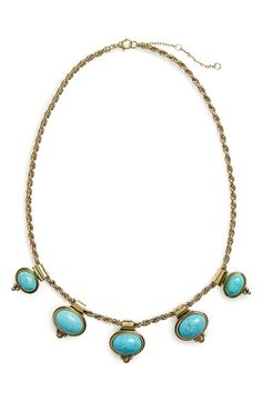 BP. Five Stone Statement Necklace available at #Nordstrom