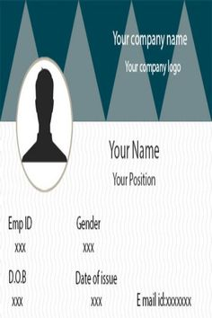 25+ Free ID Card Template Downloads | Complete Guide to ID Cards Id Card Template, Card Templates, Company Names, Company Logo, Identity Card Design, Employee Id Card, Free Id, Creative Ideas, Eagle