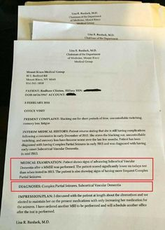 Here Is The Doctor Linked To THESE Alleged Anonymous Leaked Hillary Medical Records