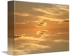 Sunset: Golden II by Sherrie Larch