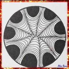 Doodle Art Drawing, Zentangle Drawings, Zentangle Patterns, Art Drawings Beautiful, Art Drawings Sketches Simple, Arte Mehndi, Mini Toile, Illusion Drawings, Mandala Art Lesson