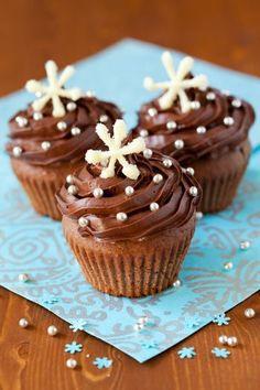 Csokis cupcake