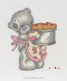 Little chef - Me to You - TT226 - Broderie - Nounours - Enfants - Broderie au point de croix - points comptés - Broderie sur CreaMagic - Vente de Broderie Little chef - Me to You - TT226 - Broderie - Nounours - Enfants - Broderie au point de croix - points comptés - Broderie en ligne