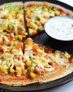 Pizza dosa is an easy and wonderful snack for kids who come hungry back from school or even for their breakfast. Cheese, dosa and their favorite toppings will be a winner combo (With video)