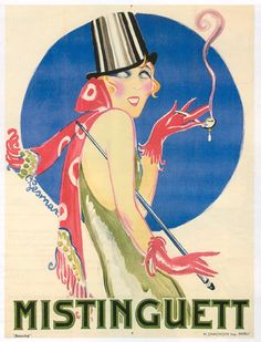 Mistinguett  (5 April 1875 - 5 January 1956) was a French actress and singer, whose birth name was Jeanne Bourgeois.