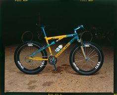 "1994 - With the punishing courses of downhill racing pushing product development the need for a longer travel bike emerged. The A.R.C. A.S. LT was born, doubling the rear wheel travel from the previous A.R.C. A.S. From 1.5"" to just over 3""."