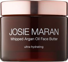 I highly recommend Josie Maran Whipped Argan Oil Face Butter.  I just started using this product and I absolutely love it!!  It goes on and leaves skin sooth and soft (not oily).