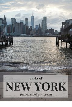 Parks where to chill out in New York City, USA
