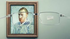 Impressionist Classics Finally Come Into Focus in Clever Eyewear Ads   Adweek