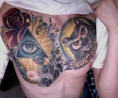 Tumblr Tattoo Owl Illuminati