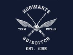 Quidditch Captain T-Shirt esigned by spacemonkeydr