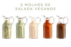 A base de gorduras, óleos e ovos, muitos molhos de salada comercializados em supermercados não fazem parte da dieta dos veganos. E é por isso, que várias o