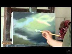 Мастер класс художника НЕ-Сахарова Пишем Море - YouTube
