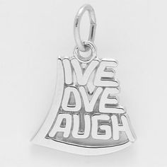 Live, Love, Laugh Charm $23.50 http://www.charmnjewelry.com/category/n250/sterling_silver-Birthday_and_Anniversary_Charms.htm #SilverCharm #CharmnJewelry #RembrandtCharms