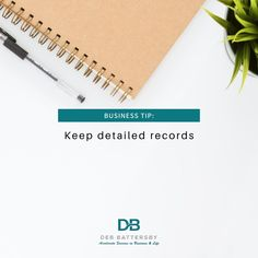 All successful businesses keep detailed records. By doing so, you'll know where the business stands financially and what potential challenges you could be facing. Just knowing this gives you time to create strategies to overcome those challenges. #invertopedia #successmatrix #keepdetailedrecords