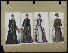 Mode. [XIXe siècle]. 1890