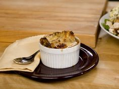 KELSEY'S FRENCH ONION SOUP  Top rich, beefy onion soup with crispy croutons and nutty Gruyere cheese for an easy at-home version of this French bistro classic.