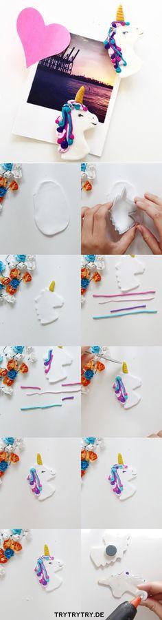 FIMO Einhörner ganz einfach selber machen. Mit dieser DIY Anleitung klappt es!
