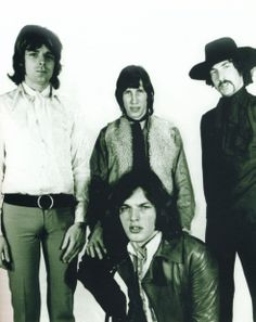 David Gilmours first photo shoot with Pink Floyd March 1968