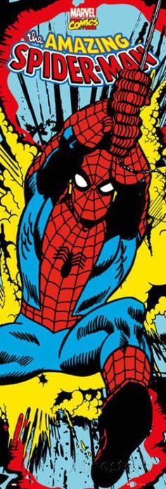Door Wall Poster - Amazing Spiderman #Marvel