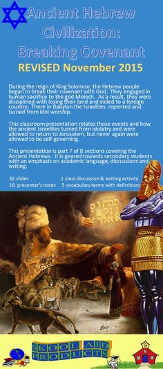 ancient hebrew civilization breaking covenant powerpoint lesson