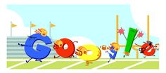 """Google Gameday Doodle Kickoff"", whatever that means :-)"