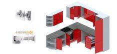 Set de bucatarie UPA1 - Seturi de bucătărie | Mobilier1.ro