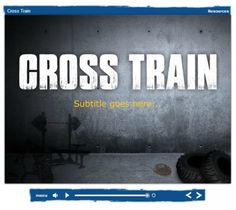 Look at Our New Cross Train Themed Templates  This post showcases all of our eLearning Templates with the Cross Train theme. Create an environment that your students will love.   Learn more here: http://bit.ly/18UTG5t  #eLearning #eLearningTemplates #Storyline #Captivate #Lectora #PowerPoint #eLearningIdeas #eLearningTips