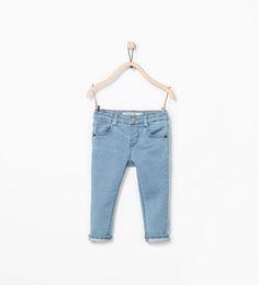 ZARA - KINDEREN - Skinny denim broek