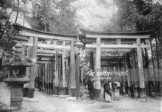 fushimi inari taisha kyoto 1910 - Buscar con Google Fushimi Inari Taisha, Kyoto, Gates, 1920s, Image, Google