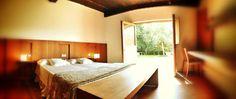 #Habitación con salida al jardín. #alojamiento #casarural #hotelrural #hotelconencanto #viajar