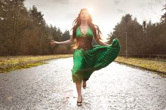 Photographer- Chris Marwood... Love the green dress