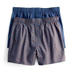 Crew boxers in club blue mini-dots.Crew Boxer in Club Blue Mini-Dots. Boxer Pants, Men's Boxer Briefs, Sport Shorts, Gym Shorts Womens, Mens Sleepwear, Ivy Style, Men Closet, How To Make Shorts, My Guy