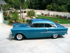 55 Chevy BelAire